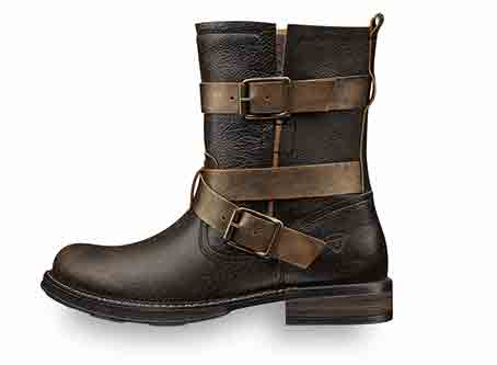 Art 25023 Leather biker boot with warm lining, Cost £37.50 Retail £99.50