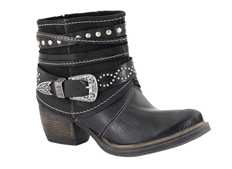 Toni 10 Western boot with buckle finish RRP: £115 - Trade: £52.71