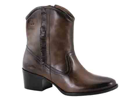Dany 01 – Asphalt Western style ankle boot with a rich burnished finish. Trade £54.17 - RRP £130