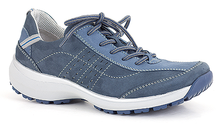 Gabriele 02 Trade Price: £36.66 – RRP: £79.99 Sporty waterproof design with flexible PU outer sole, removable footbeds and microfibre linings for extra comfort.