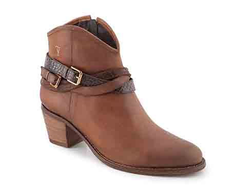 0745 Cowboy boot with straps. Trade price £40 Retail price £120