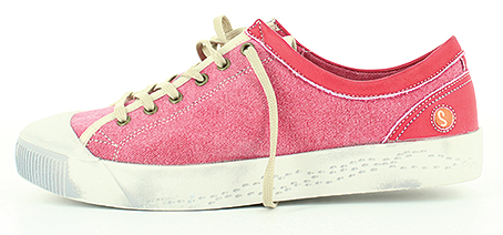 P900 182 502 – style 'KAILA' Trade Price: £29.90 - RRP: £70.00 3 washed canvas colours available on a chunky sole.