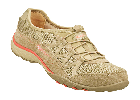 Women's Relaxed Fit: Breathe Easy - Relaxation Comfort Shoes SRP: £57.00 - Trade Price: £28.00 Enjoy sporty style and blissful comfort in the SKECHERS Relaxed Fit®: Breathe Easy - Relaxation shoe. Soft suede and mesh fabric upper in a slip on bungee laced sporty casual comfort sneaker with stitching accents and Memory Foam insole.