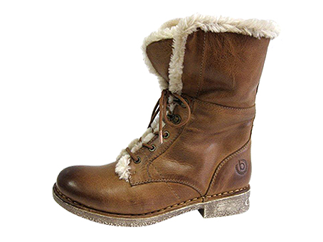 2951-1-665  £99.99 On trend soft fur lined ankle boot with inner zip