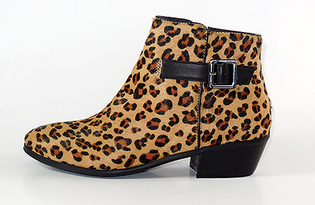Style: Zero.  On trend cowboy style boot available in Leopard Print or Calf Leather.   Trade price: from £31.95