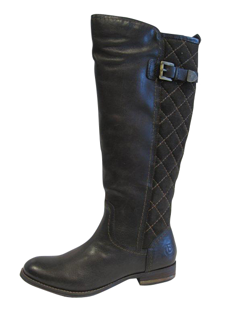 V0534-1G6V-610  £110 Fleece lined long leg boot  with patch detail