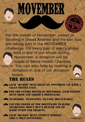 Movember poster copy
