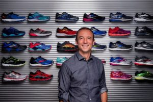8/1/2016-- Seattle, WA, USA Patrick Pons de Vier, Senior Vice President of Global Footwear at Brooks. Photograph by Stuart Isett. ©2016 Stuart Isett. All rights reserved.
